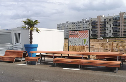 Bespoke furniture in Calais (France)